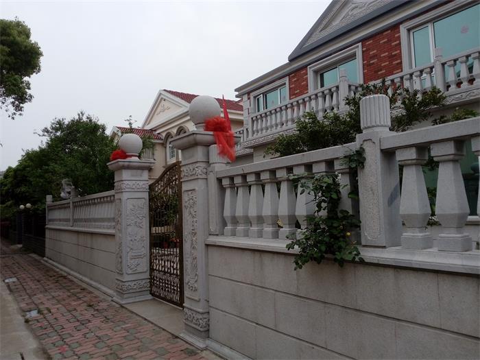 异形花瓶石栏杆及石柱
