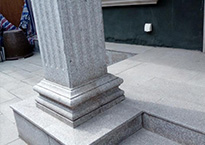石墩罗马柱
